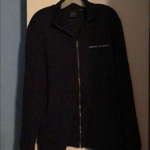 Armani Exchange Zippered Sweater